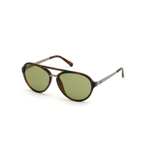 Guess Men's Gradient Gu6956 GU6956-52N-60 Brown Round Sunglasses
