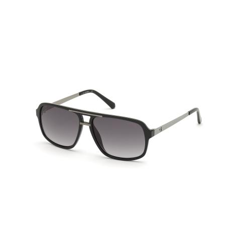 Guess Men's Gu6955 GU6955-01B-59 Sunglasses