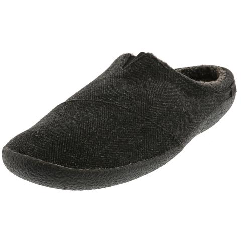 Toms Men's Berkeley Herringbone Woolen Ankle-High Slipper