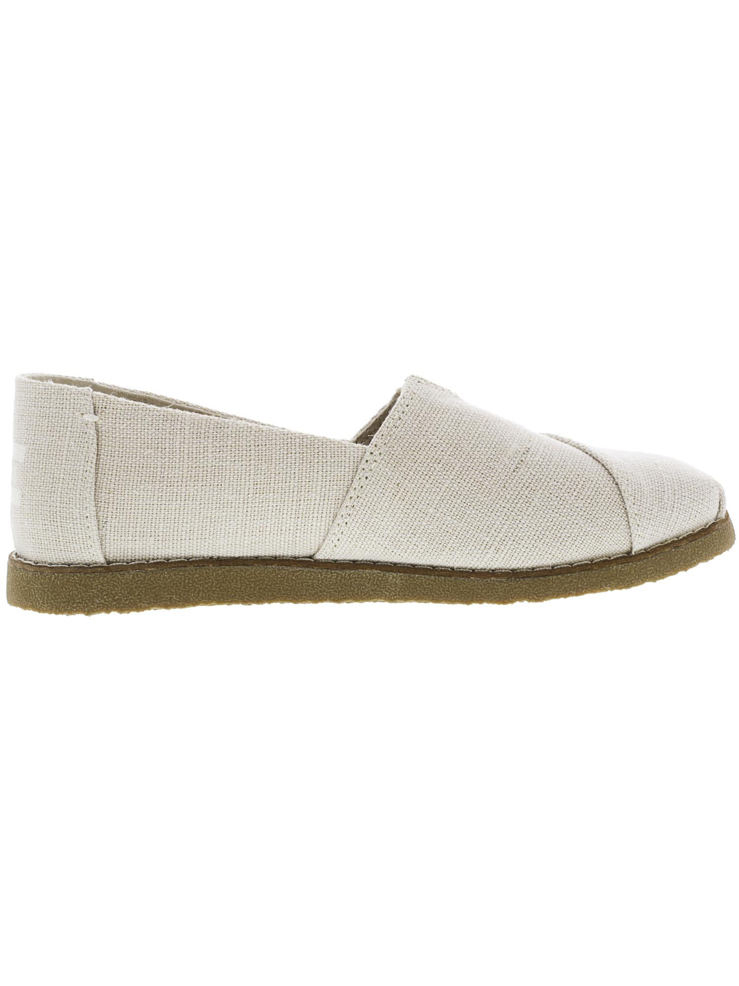 Toms-Women-039-s-Alpargata-Crepe-Heritage-Canvas-Ankle-High-Slip-On-Shoes thumbnail 5