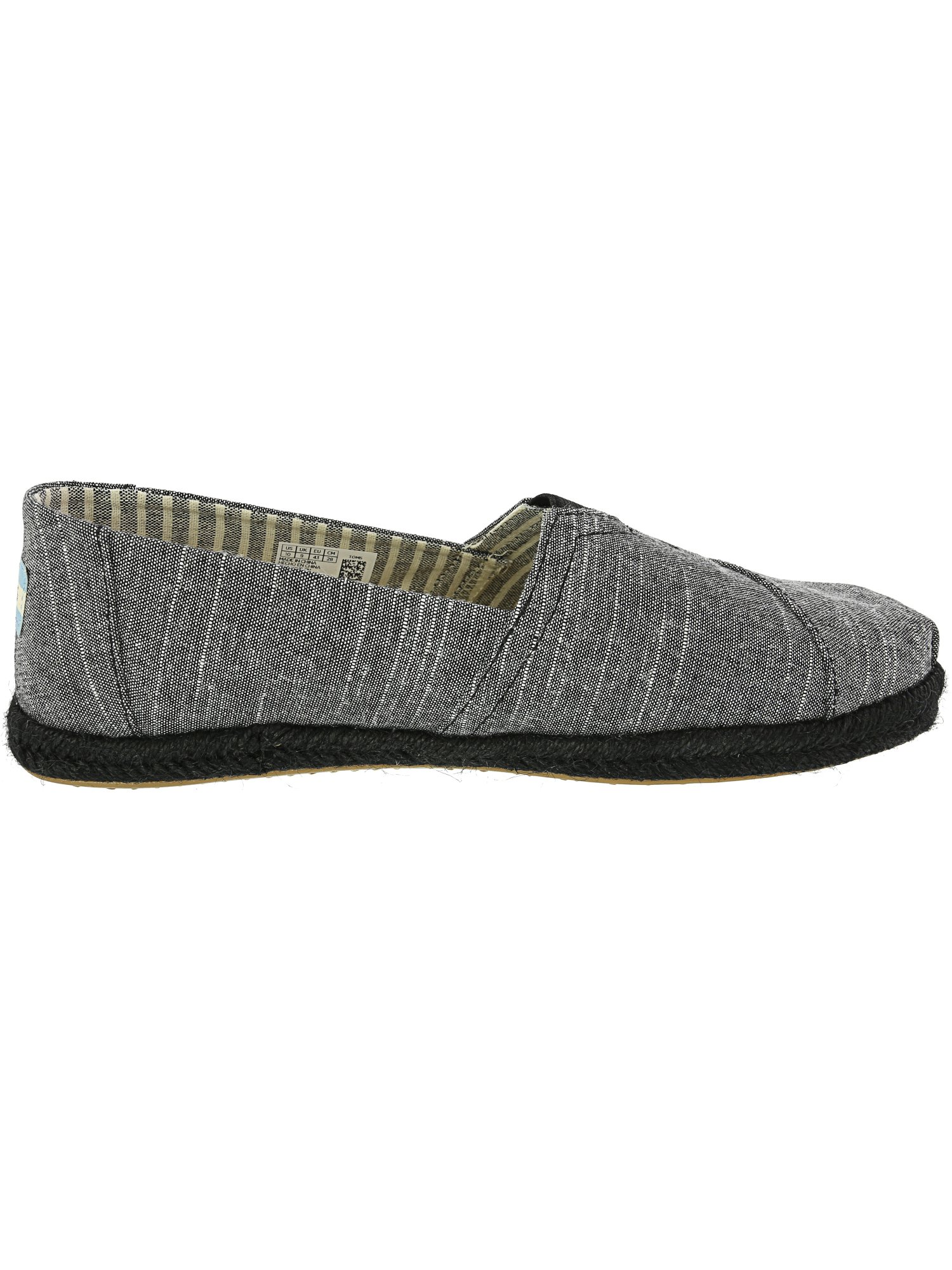 Toms-Men-039-s-Classic-Rugged-Chambray-Fabric-Slip-On-Shoes thumbnail 8