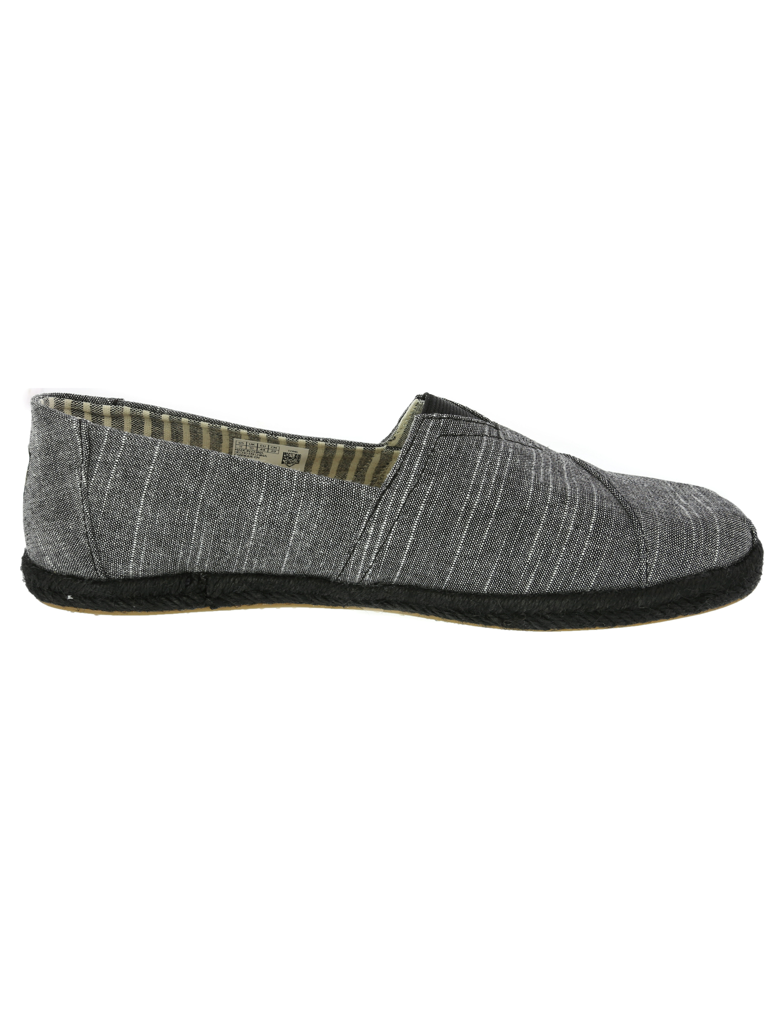 Toms-Men-039-s-Classic-Rugged-Chambray-Fabric-Slip-On-Shoes thumbnail 5