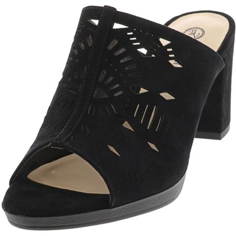 Bella Vita Women's Lark Kid Suede Leather Sandal