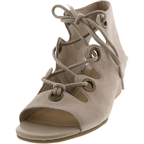 Bella Vita Women's Ingrid Suede Ankle-High Sandal