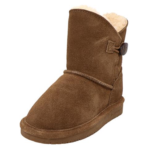 Bearpaw Rosie Mid-Calf Leather Snow Boot