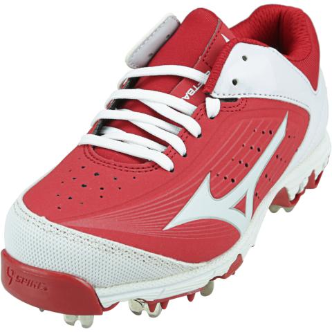 Mizuno Women's 9-Spike Swift 5 Ankle-High Softball