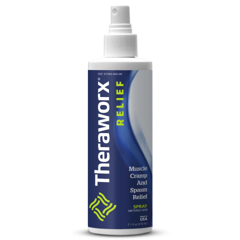 Theraworx Relief for Muscle Cramps and Spasms Spray