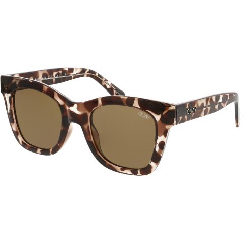 Quay Women's After Hours QU-000180-TORT/BRN Brown Cat Eye Sunglasses