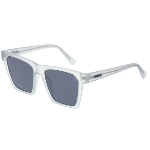 Quay Women's Anti-reflective X Missguided Alright QW-000289-WHT/SMK Grey Square Sunglasses